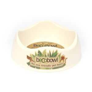 I248943-Becobowl Dog Bowl Natural Large 26cm 1.5l
