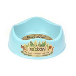 I248944-Becobowl Dog Bowl Blue Large 26cm 1.5l