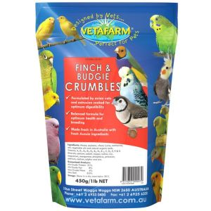 I249178-Vetafarm Finch And Budgie Crumbles 450g