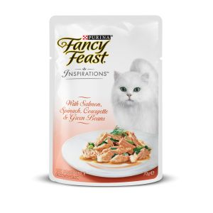 I247606-Fancy Feast Inspirations With Salmon Spinach Courgette & Green Beans 70g