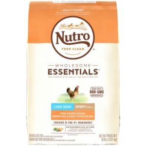 I247334-Nutro Chicken Rice & Sweet Potato Large Breed Puppy Food 13.6kg