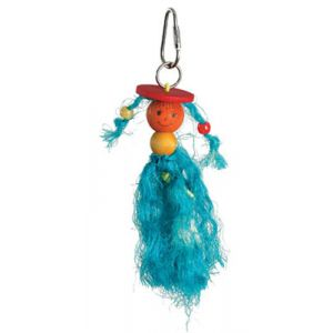 I169435-Caitec Preening Doll Tiny Bird Toy