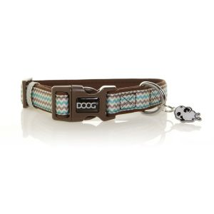 I247534-Doog Benji Chevron Stripe Medium Dog Collar