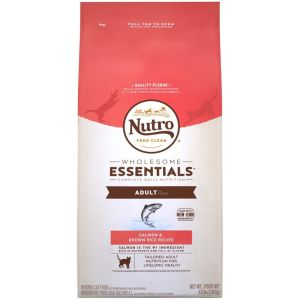 I247345-Nutro Salmon & Whole Brown Rice Adult Cat Food 2.95kg