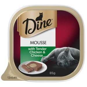 I247348-Dine Mousse With Tender Chicken & Cheese 85g