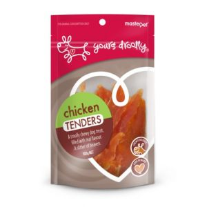 I247928-Yours Droolly Chicken Tenders Dog Treats 100g