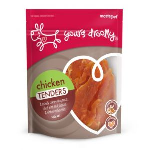 I247929-Yours Droolly Chicken Tenders Dog Treats 500g