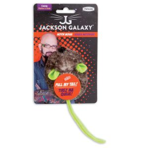 I172196-Jackson Galaxy Motor Mouse With Catnip Cat Toy