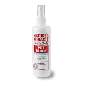 I172315-Natures Miracle Just For Cats Pet Block Repellent Spray 236ml