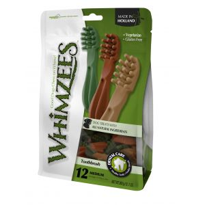 I249235-Whimzees Toothbrush Medium Treat 12 Pack