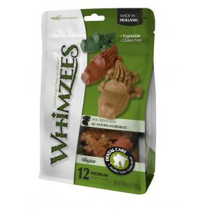 I172475-Whimzees Alligator Medium Dog Treat 12 Pack