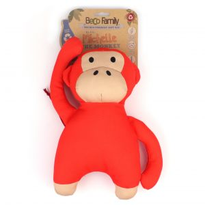 I173281-Beco Family Michelle The Monkey Recycled Dog Toy