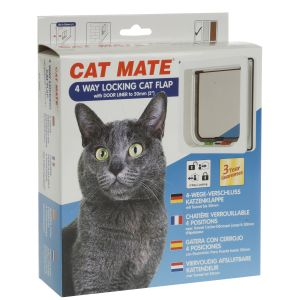 I212062-Cat Mate 4 Way Cat Door With Liner