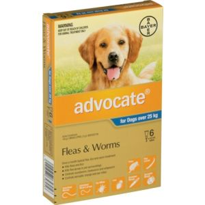 I229444-Advocate Flea Treatment For Dogs Over 25kg - 6 Pack