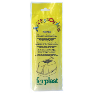 I230020-Ferplast Carbon Filters For Cat Litter Tray