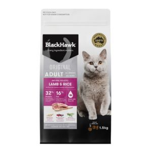 I237619-Black Hawk Lamb Cat Food 1.5kg
