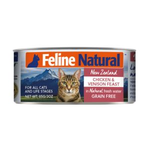 I248476-Feline Natural Chicken & Venison Canned Cat Food 85g