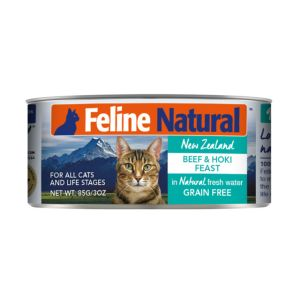 I248474-Feline Natural Beef & Hoki Canned Cat Food 85g