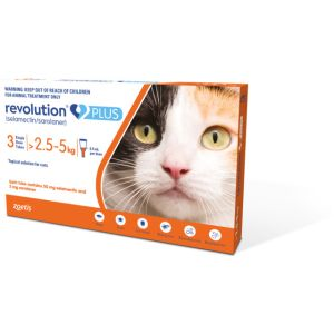 I241525-Revolution Plus Cat >2.5 - 5kg Orange 3pk