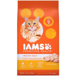 I241797-Iams Proactive Health Adult Cat Food Food Chicken 1.59kg