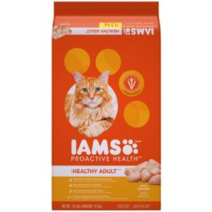 I241798-Iams Proactive Health Adult Cat Food Chicken 11.57kg