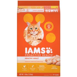 I241800-Iams Proactive Health Adult Cat Food Chicken 7.26kg