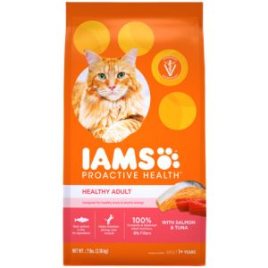I241806-Iams Proactive Health Adult Cat Food Salmon & Tuna 3.18kg