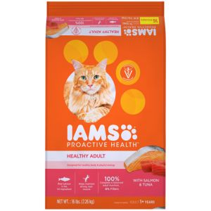 I241807-Iams Proactive Health Adult Cat Food Salmon & Tuna 7.26kg