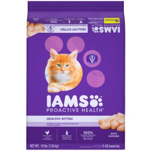 I241812-Iams Proactive Health Kitten Chicken 7.26kg