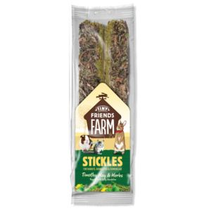 I241757-Tiny Friends Farm, Stickles Timothy Hay & Herbs 2pk