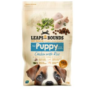 I242129-Leaps & Bounds Chicken Puppy Food 3.2kg