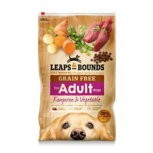 I242140-Leaps & Bounds Grain Free Kangaroo Dog Food 12kg