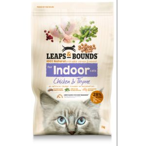 I242149-Leaps & Bounds Chicken And Thyme Indoor Cat Food 7kg