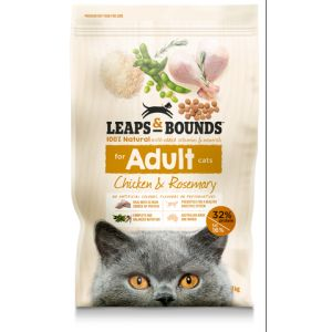 I242150-Leaps & Bounds Chicken And Rosemary Cat Food 7kg.