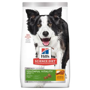 I246719-Hills Science Diet Youthful Vitality Senior Dog Food 1.58kg