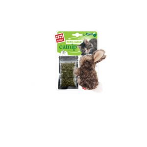 I251062-Gigwi Refillable Catnip Cat Toy Rabbit