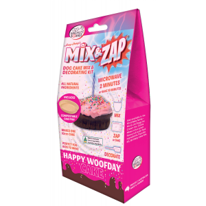 I253425-Wagalot Mix And Zap Happy Woof Day Cake Kit Pink