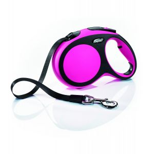 I249525-Flexi New Comfort 5m Pink Tape Large Leash.