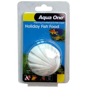I177557-Aqua One Holiday Fish Food Block 40g