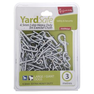 I247901-Yours Droolly Tie Out Chain 3m For Large To Xxl Dogs