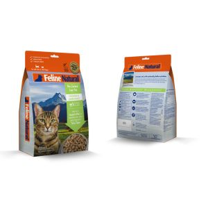 I248479-Feline Natural Freeze Dried Chicken & Lamb Cat Food 320g
