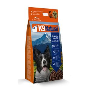 I248605-K9 Natural Freeze Dried Raw Beef Dog Food 1.8kg