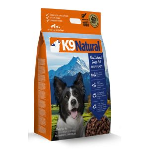 I248607-K9 Natural Freeze Dried Raw Beef Dog Food 3.6kg
