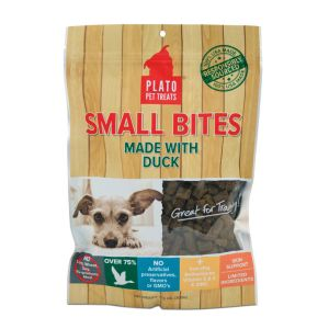 I246566-Plato Small Bites Duck Dog Treats 300g