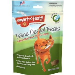 I247670-Emerald Feline Dental Treats Catnip 85g