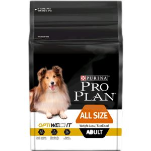 I247632-Proplan Weight Loss/sterilised Dog Food With Optiweight 2.5kg