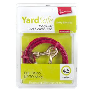 I247951-Yours Droolly Tie Out Cable 4.5m For Medium To Large Dogs