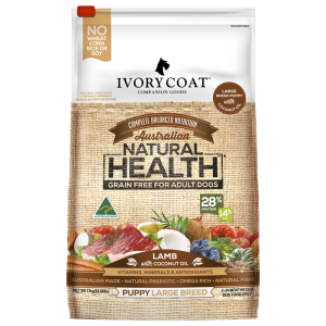 I250568-Ivory Coat Large Breed Puppy Food Lamb 13kg