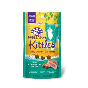 I247179-Wellness Kittles Tuna Flavoured Cat Treats - 56g