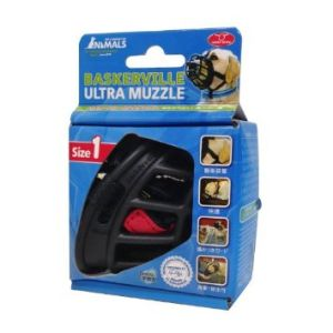 I247487-Baskerville Dog Muzzle Ultra Size 1 Black